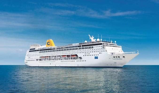 Barco de cruceros Costa neoRiviera