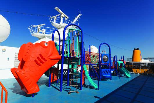 Imagen de una Zona Infantil del barco Costa neoRiviera