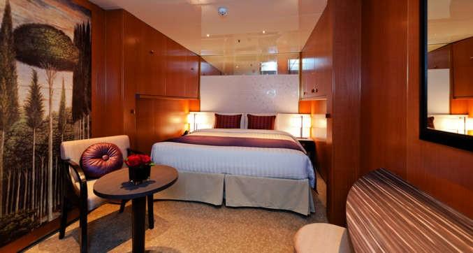 Imagen de un Camarote Interior del Barco Costa neoRomantica