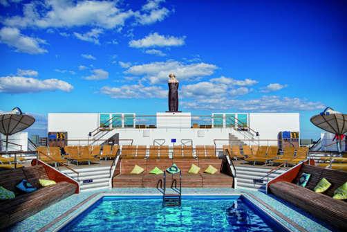 Imagen de una Piscina del Barco Costa neoRomantica