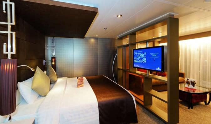 Imagen de una Suite del Barco Costa neoRomantica
