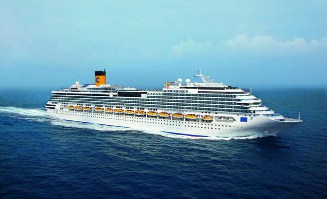 Barco de Cruceros Costa Pacifica