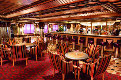 Imagen del Grand Bar Rhapsody del Barco Costa Pacifica