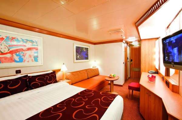 Imagen de un Camarote Interior del Barco Costa Pacifica