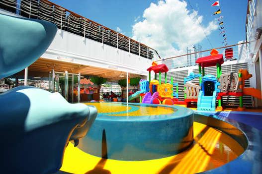 Imagen de una Zona Infantil del Barco Costa Pacifica