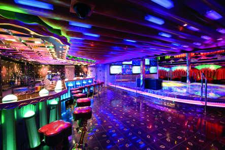 Imagen de la Discoteca del Barco Costa Serena
