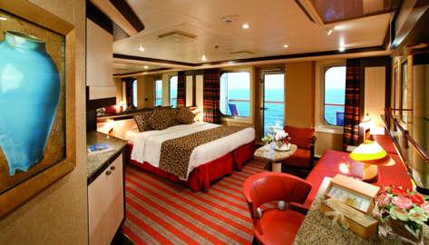Imagen de una Suite del Barco Costa Serena
