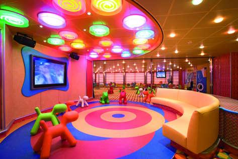 Imagen de la Zona Infantil del Barco Costa Serena