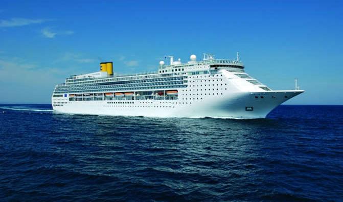 Barco de Cruceros Costa Victoria. Costa Cruceros vende el Costa neoClassica y posiciona el Costa Victoria en el Mediterráneo
