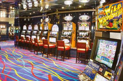 Imagen del Casino del barco Costa Victoria