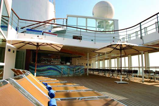 Imagen de la Cubierta del barco Costa Victoria