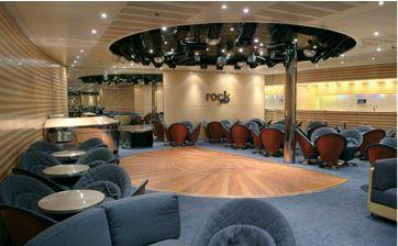 Imagen de la Discoteca del barco Costa Victoria