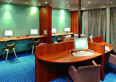 Imagen del Punto de Internet del barco Costa Victoria
