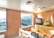 Imagen de una Suite del barco Costa Victoria
