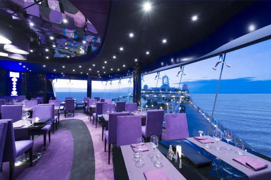 Imagen del Salón Galaxy del barco MSC Preziosa