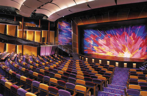 Imagen del Teatro Brillance del barco Brillance of the Seas