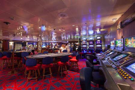 Imagen del Casino del barco Zenith de Croisieres de France