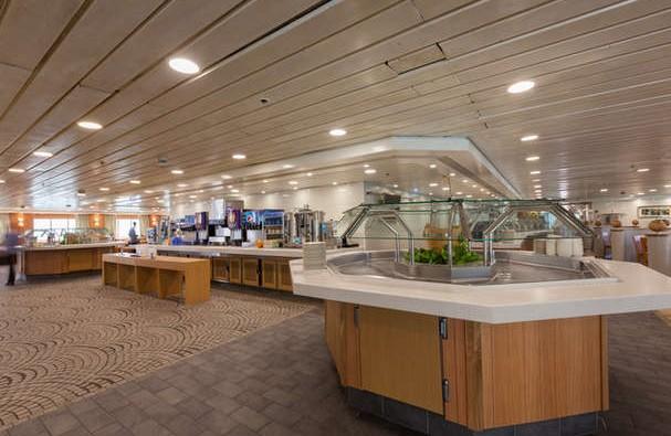 Imagen del Buffet Marche Gourman del barco Zenith de Croisieres de France