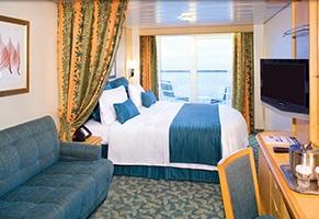 Imagen de un Camarote con balcón del Barco Explorer of the Seas