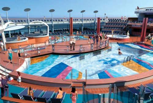 Imagen de la Cubierta del barco Freedom of th Seas