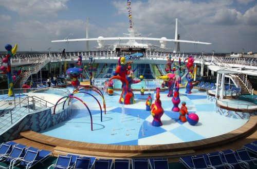 Imagen del Parque acuático del barco Freedom of th Seas