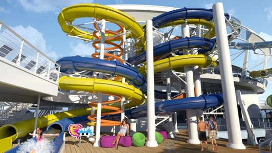 Imagen del Parque Acuático del barco Harmony of the Seas