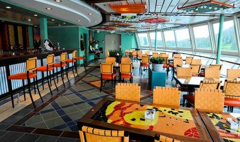 Imagen del Restaurante Rita's del barco Radiance of the Seas