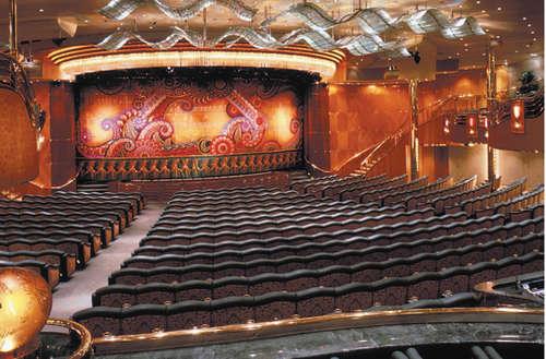Imagen del Teatro del barco Rhapsody of the Seas