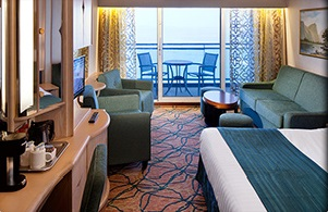 Imagen de una Suite del barco Grandeur of the Seas