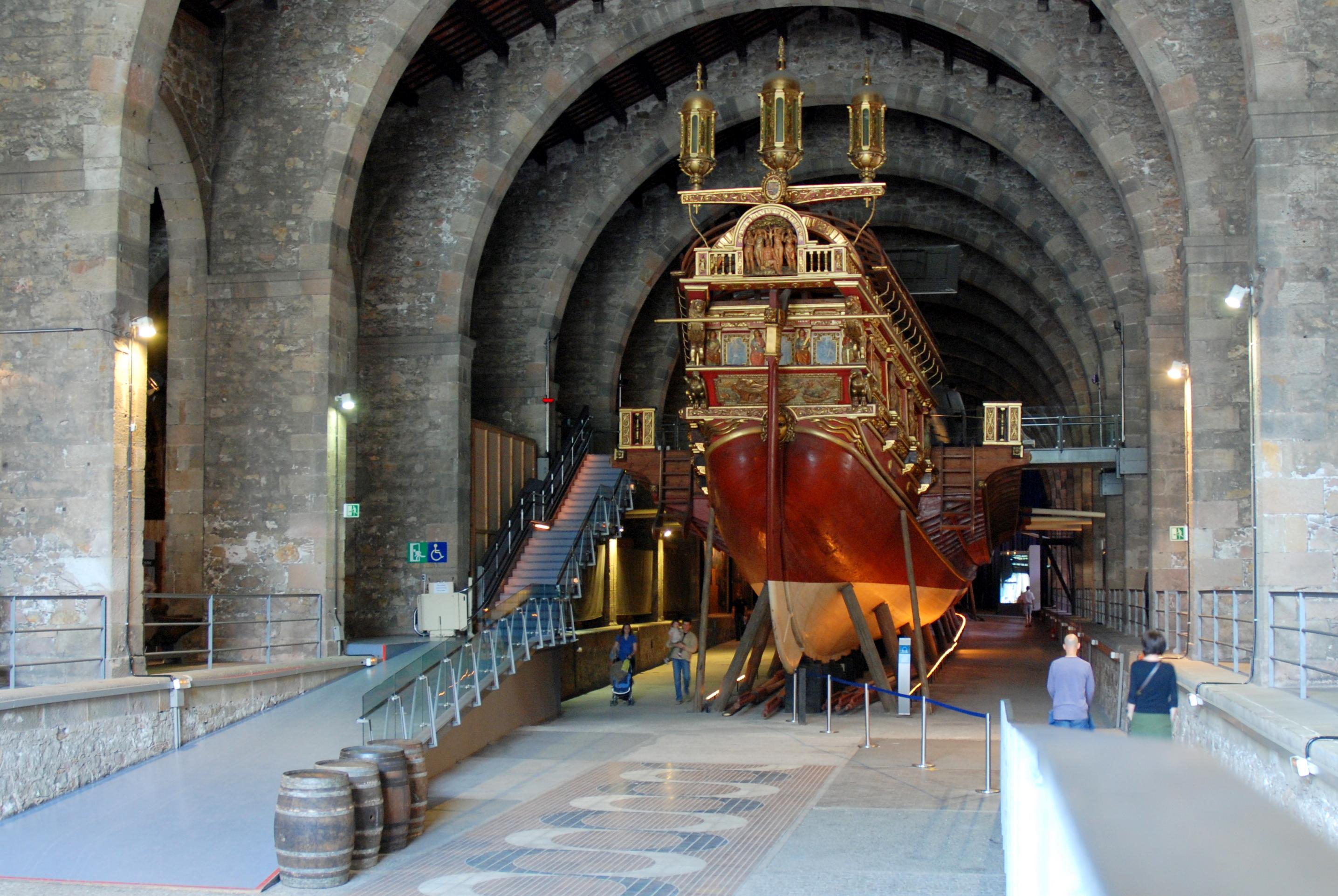 Museu Marítim de Barcelona: más de siete décadas de historia dedicadas a la c...