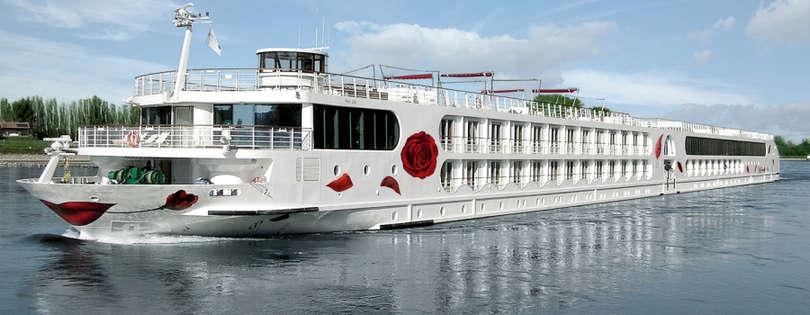 Barco de cruceros fluviales Arosa Aqua