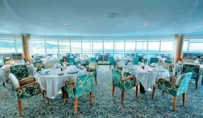 Imagen del Restaurante La Veranda del barco Paul Gauguin