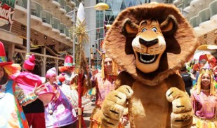 Spectacle Madagascar Photo site web Royal Caribbean International