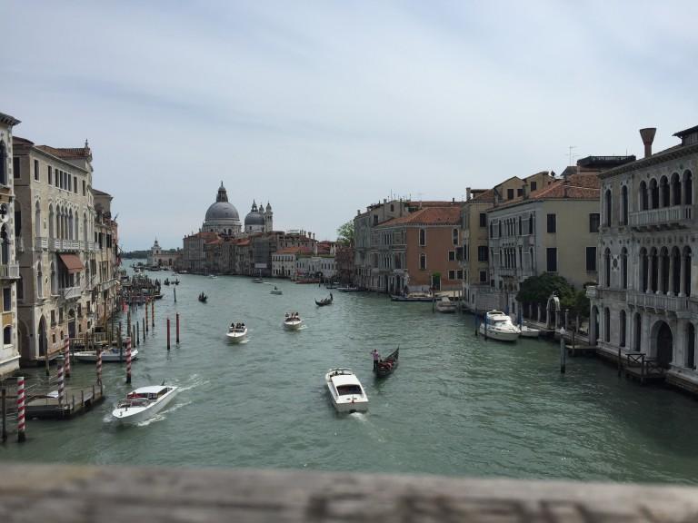 escale de croisière à Venise ponts