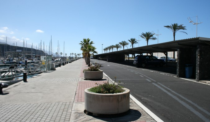 Tazacorte-parking