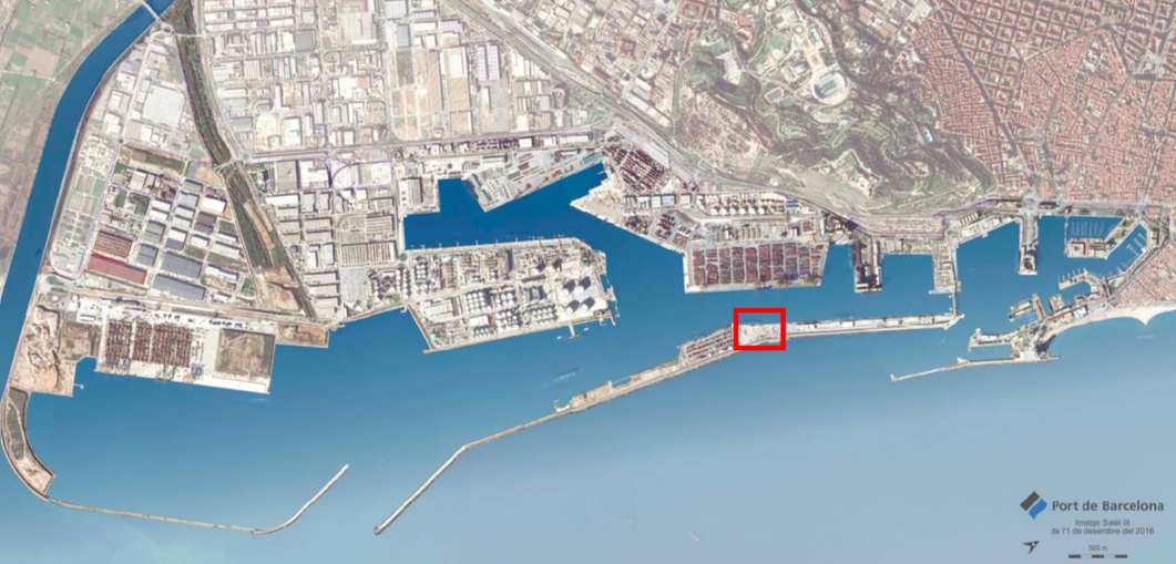 terminal E de cruceros, una de las estaciones marítimas más grandes de Europa