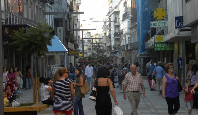 calle Rey Daviña Vilagarcía