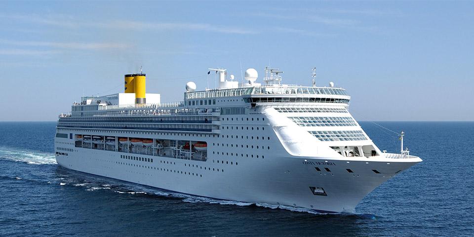 Últimas noticias sobre cruceros. El Costa Victoria de Costa Cruceros hará cruceros desde Tarragona en 17 ocasiones en 2018