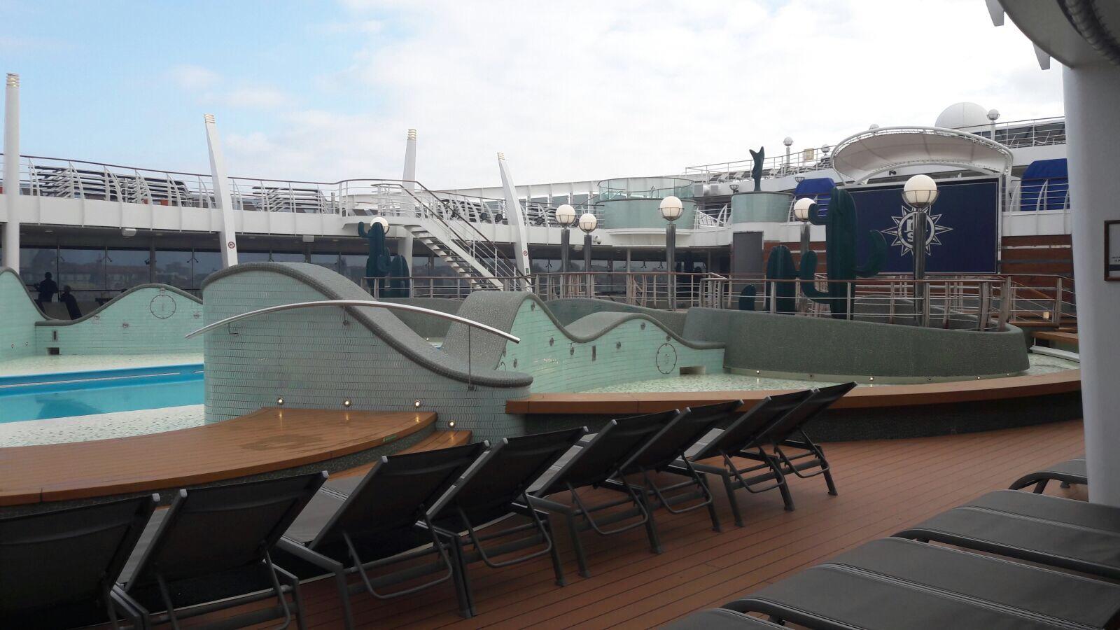 Escala inaugural del MSC Preziosa de MSC Cruceros en el Puerto de A Coruña