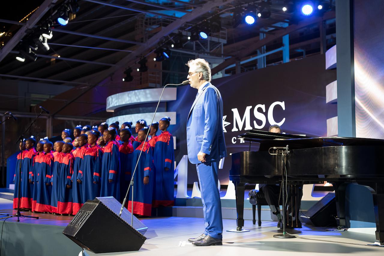 Miami acoge el bautizo del MSC Seaside, el barco más innovador de MSC Cruceros