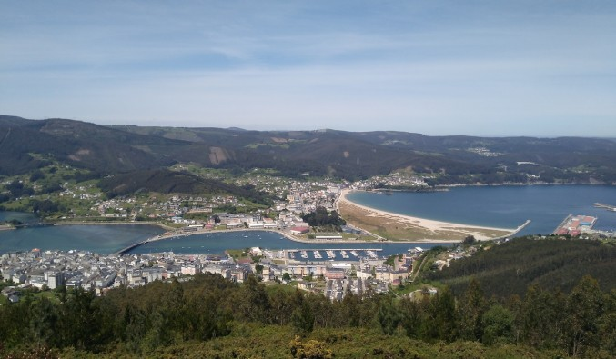puerto-cruceros-viveiro-VISTA DESDE SAN ROQUE. VIVEIRO