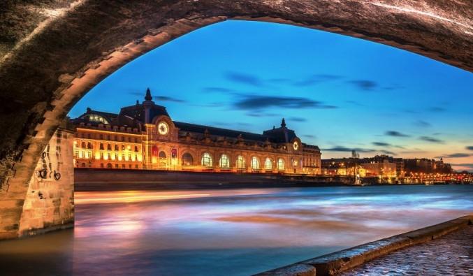 El rio Sena por Paris