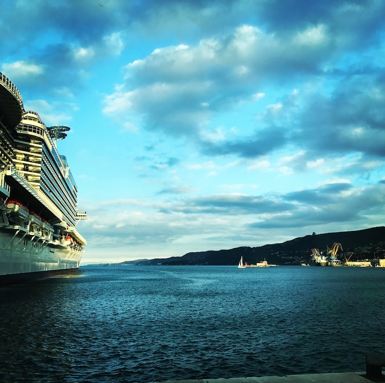 La tecnología medioambiental que usan los cruceros