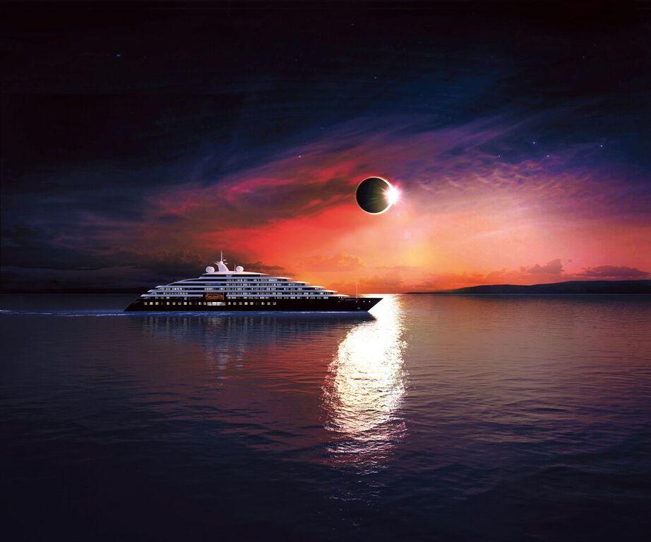 El primer yate de exploración del mundo: Scenic Eclipse