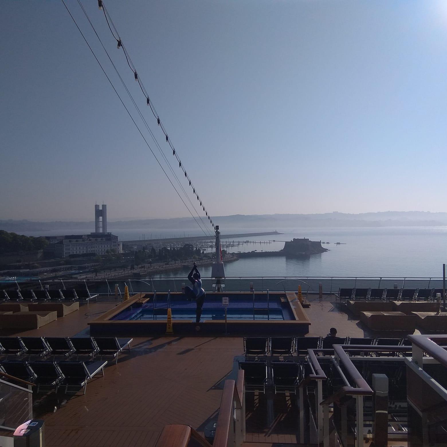 Escala inaugural en el Puerto de A Coruña del MSC Meraviglia de MSC Cruceros
