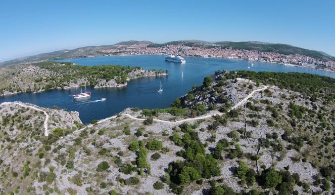 crucero-escala-sibenik-adriático-Sibenik - Channel St. Anthony (5)