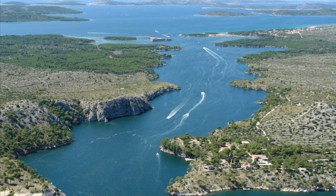 crucero-escala-sibenik-adriático-Sibenik - Channel St. Anthony