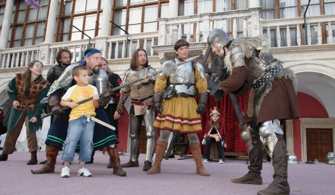 crucero-escala-sibenik-adriático-Sibenik - Medieval Fair