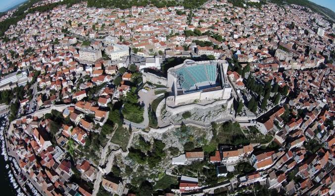 crucero-escala-sibenik-adriático-Sibenik - St. Michael Fortress (2)