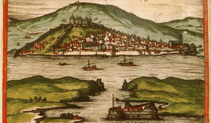 crucero-escala-sibenik-adriático-Sibenik - old map